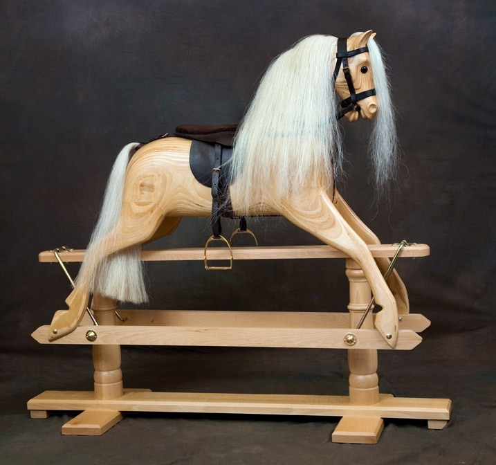 Wooden Rocking Horse ~ Traditional wooden rocking horses by ringinglow