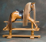Mayfield rocking horse by Ringinglow Rocking Horse Company