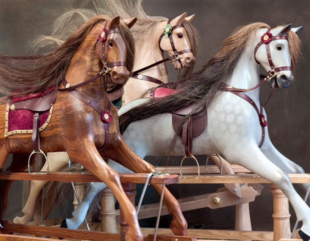 rocking horse building kit