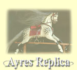 FH Ayres Replica Rocking Horse