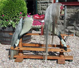 Traditional Wooden Rocking Horse antique FH Ayres from The Ringinglow Rocking Horse Company